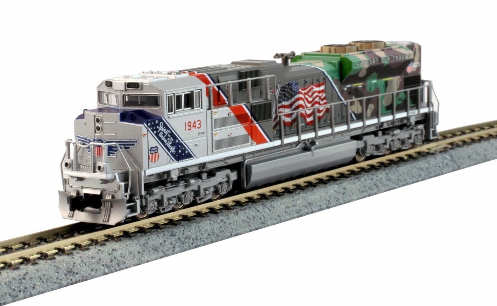 KATO 1761943DCC N    SD70ACe Union Pacific Spirit of the UP DCC 078723