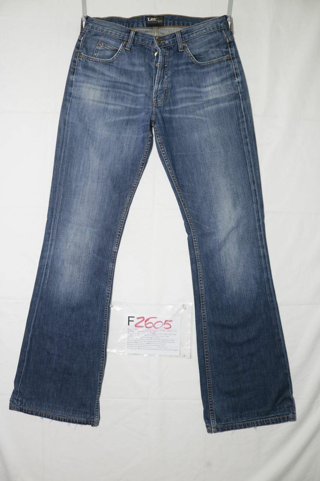 Lee Denver Flare démarragecut D& 039;Occassion (Cod.F2605) W32 L34 en Jeans Jeans à Pattes