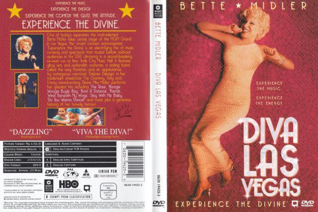 Bette Midler - DVD - Diva Las Vegas - DVD von 1997 - Neuwertig !