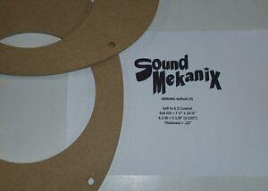 6X9 mdf speaker rings