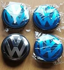 VW Alloy Wheel Centre Caps x4 65mm Golf MK6 MK5