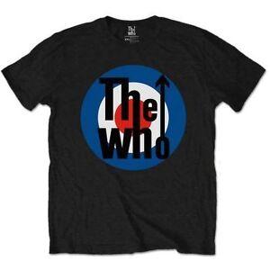 The-Who-Target-Classic-Official-Merchandise-T-Shirt-M-L-XL-Neu