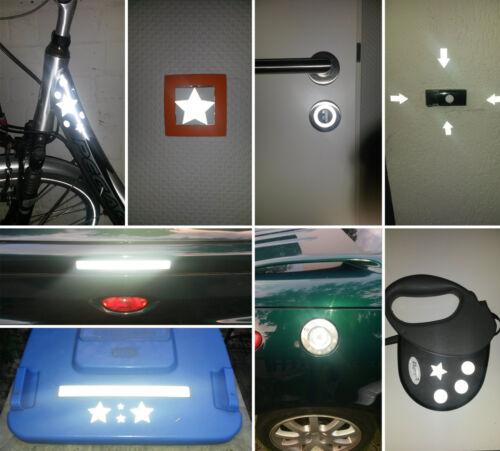 004 Reflection Sticker Set Circles-Luminous Sticker Bike Helmet-Auto-Reflex