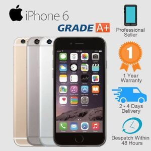 Apple iPhone 6 16GB 64GB 128GB Unlocked Smartphone Plus Gift Grade A++ / B / C