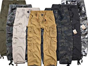 BRANDIT-Hommes-Cargo-Pantalon-Mens-Pure-Vintage-Trousers-pantalon-cargo-army-neuf-langhose