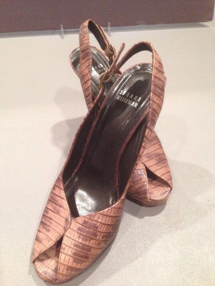 in vendita scontato del 70% Donna  7 1 2 Stuart Weitzman Sling Sling Sling Open Toe  acquista la qualità autentica al 100%