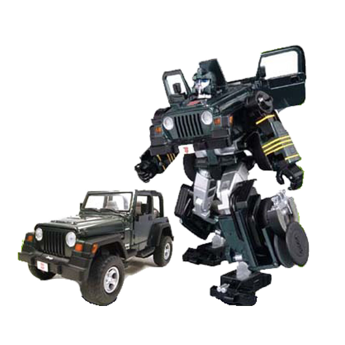 Binaltech BT-04 Hound Jeep Wrangler carrocería de metal - Transformers