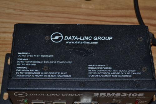 Data-Linc SRM6210E Ethernet Radio Modem 902-928 MHz 10 to 28 VDC