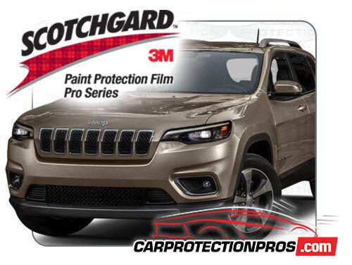2019 Jeep Cherokee Limited 3M Pro Series Clear Bra Front Bumper Pre Cut Kit