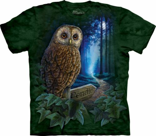 NEW THE WAY OF THE WITCH Owl Bird Green Lisa Parker The Mountain T Shirt