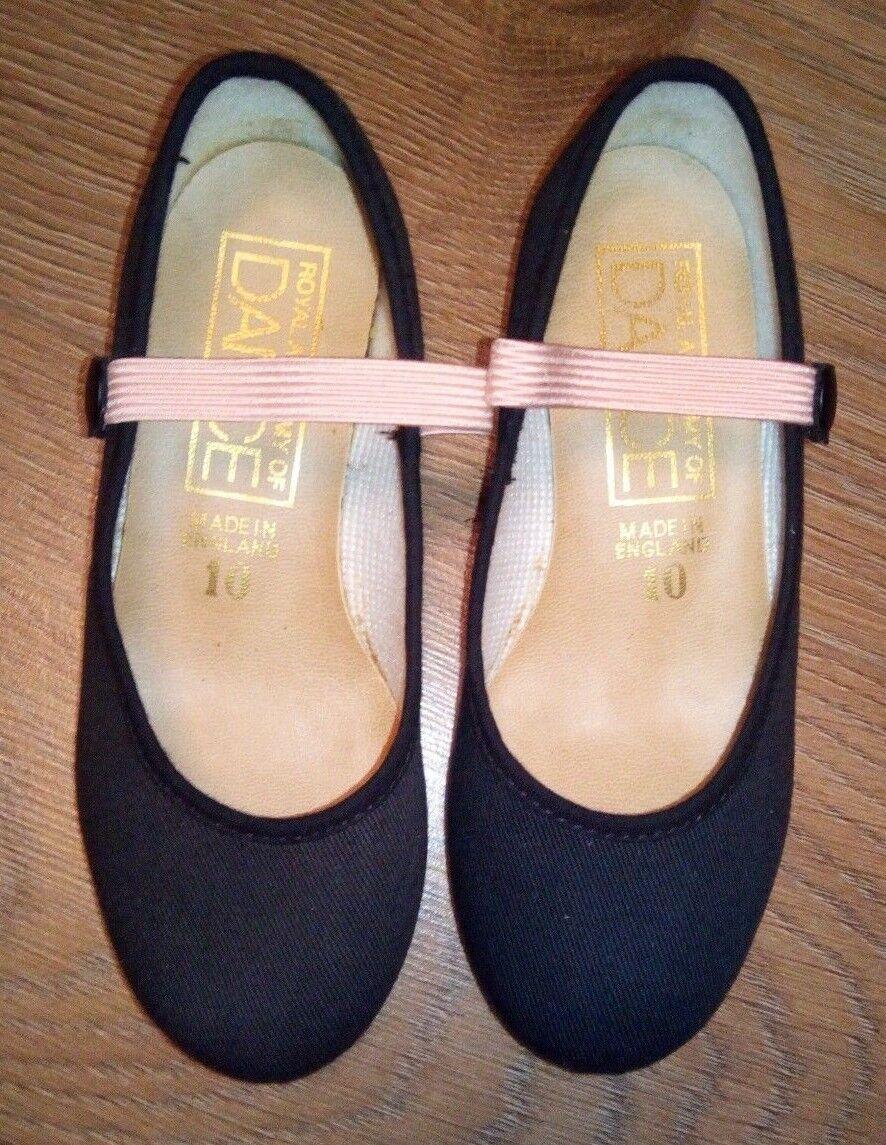 Katz Girls RAD Character Syllabus Dance Shoes Low Heel Various Sizes UK Supplier