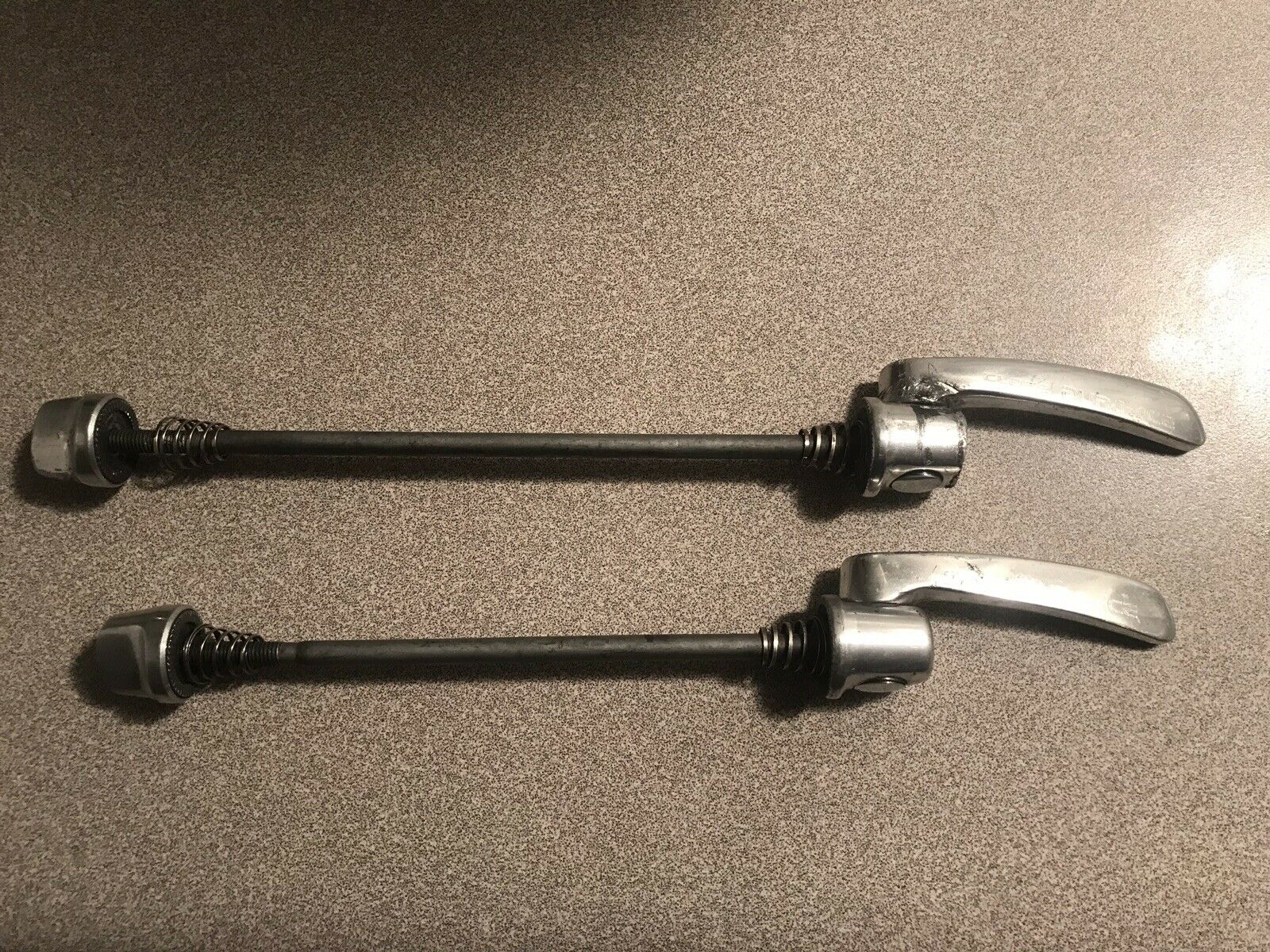 Dura Ace 7700 Skewers Road Cycling Front And Rear