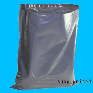 1c5198906364 Strong Grey Mailing Post Mail Postal Bags Poly Postage Self Seal All Sizes  Cheap