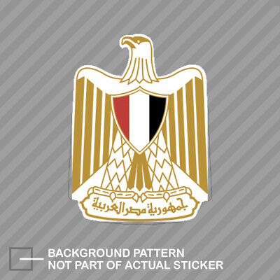 Best Egypt Flag Sticker Auto Car Decal Truck Window Wall Country Nation Egyptian