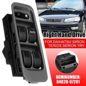 RHD-Window-Switch-Control-For-Daihatsu-Sirion-Serion-M100-YRV-Mira-L500-98-01