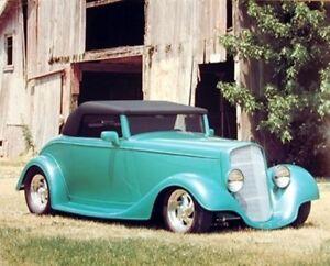 1934 Chevy Cabriolet Vintage Automobile