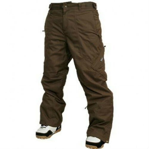 QUIKSILVER Men's SCORPION Snow Pants Brown XSmall NWT