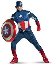 Avengers Captain America Adult Helmet Mask Marvel Comics Brand New 68116