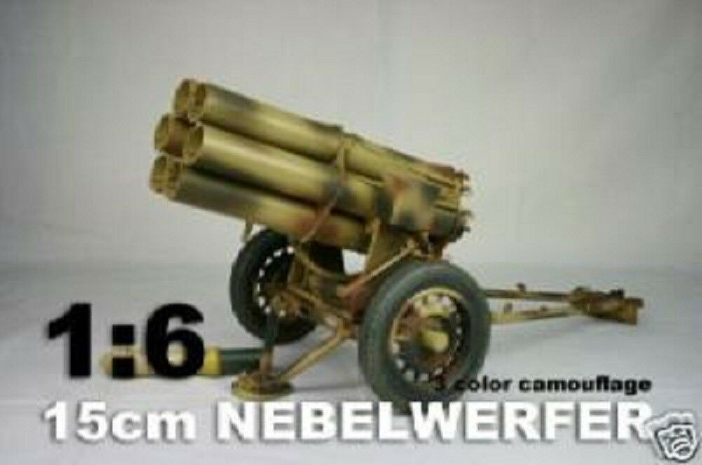 DID 1 6th Scale WWII German Metal Nebelwerfer 3 color Camoflauge