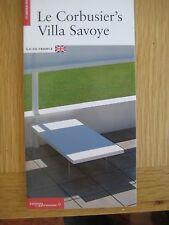 le corbusiers villa savoye  itineraires morel-journel