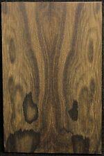 Ziricote x Knife Scales x Cut Slab x Rare x With Mostly Landscape Figured ZIKS20