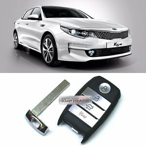 Details about OEM Keyless Panic Smart Key Remote Immobilizer Blank For KIA  2016-2019 Optima K5