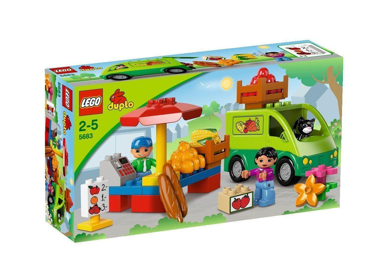 Lego Duplo 5683 Market Stand New Ovp Misb