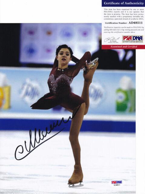 Evgenia Yevgenia Medvedeva 2018 Olympics Signed Autograph 8x10 Photo PSA/DNA COA