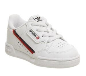 b246d9e8ab6c2 Caricamento dell immagine in corso Bambini-Adidas-80s-CONTINENTAL-Neonato -Scarpe-da-ginnastica-