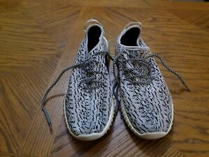 ADIDAS YEEZY BOOST Men s 2006 Black and White OG Sneakers Size 10 ... c29e12b7a