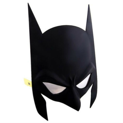 DC SUPERHERO COSTUME GLASSES MASK SUN-STACHES BATMAN CATWOMAN ROBIN SUPERMAN