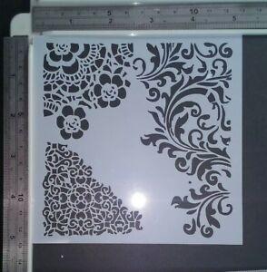 Circle Dots Spots Stencil Scrapbooking Card Making Airbrush Painting Home Decor