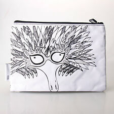 Scribbla Colouring in Pencil Case /& Fabric Pen Set Owls with Colour Markers