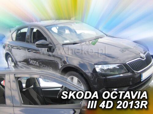 HEKO Windabweiser  SKODA Octavia III schrägheck 5türer ab 2013 2teilig 28338