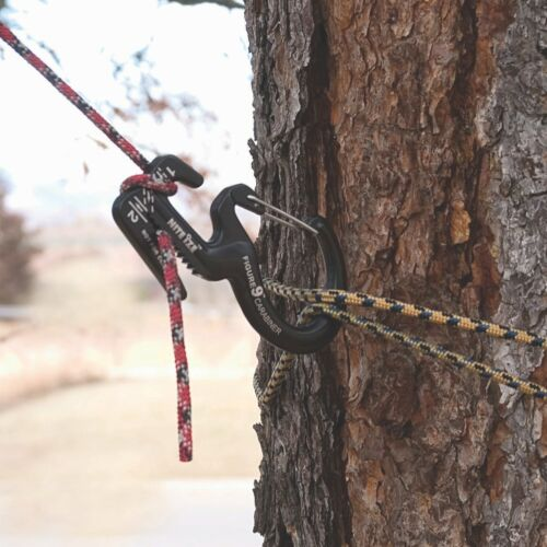 Nite Ize Figure 9 Carabiner Large Rope Tightener Aluminum Tie Down Tool w//Biner