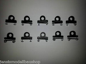 10x lagerbock stehlager ohne lager f r modellbau. Black Bedroom Furniture Sets. Home Design Ideas