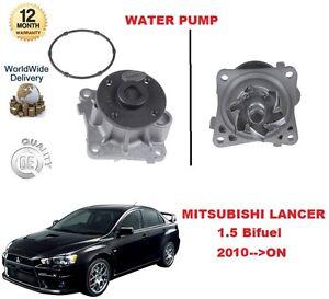 FOR MITSUBISHI LANCER 1.5 BIFUEL 109BHP 2010 >ON WATER PUMP