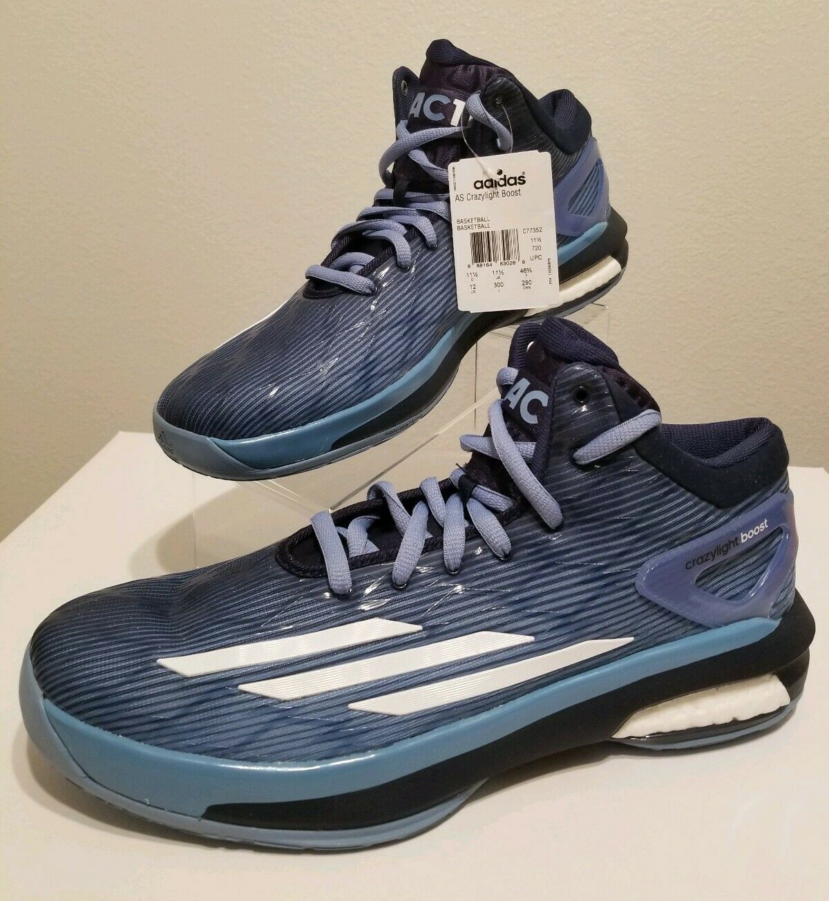 Adidas Crazylight Boost 'MAC11' Mike Conley Player Edition shoes Sz 12