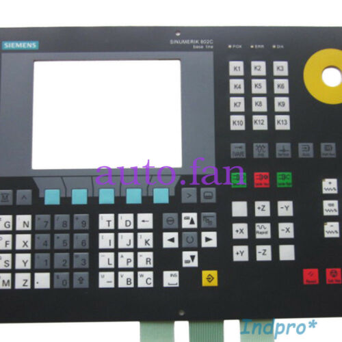NEW FOR SIEMENS SINUMERIK 802C 6FC5500-0AA11-1AA0 Membrane Keypad