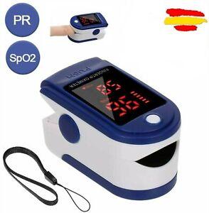 Oximetro de Dedo Pulsómetro Monitor Oxigeno Sangre Pantalla OLED Pulsioximetro A