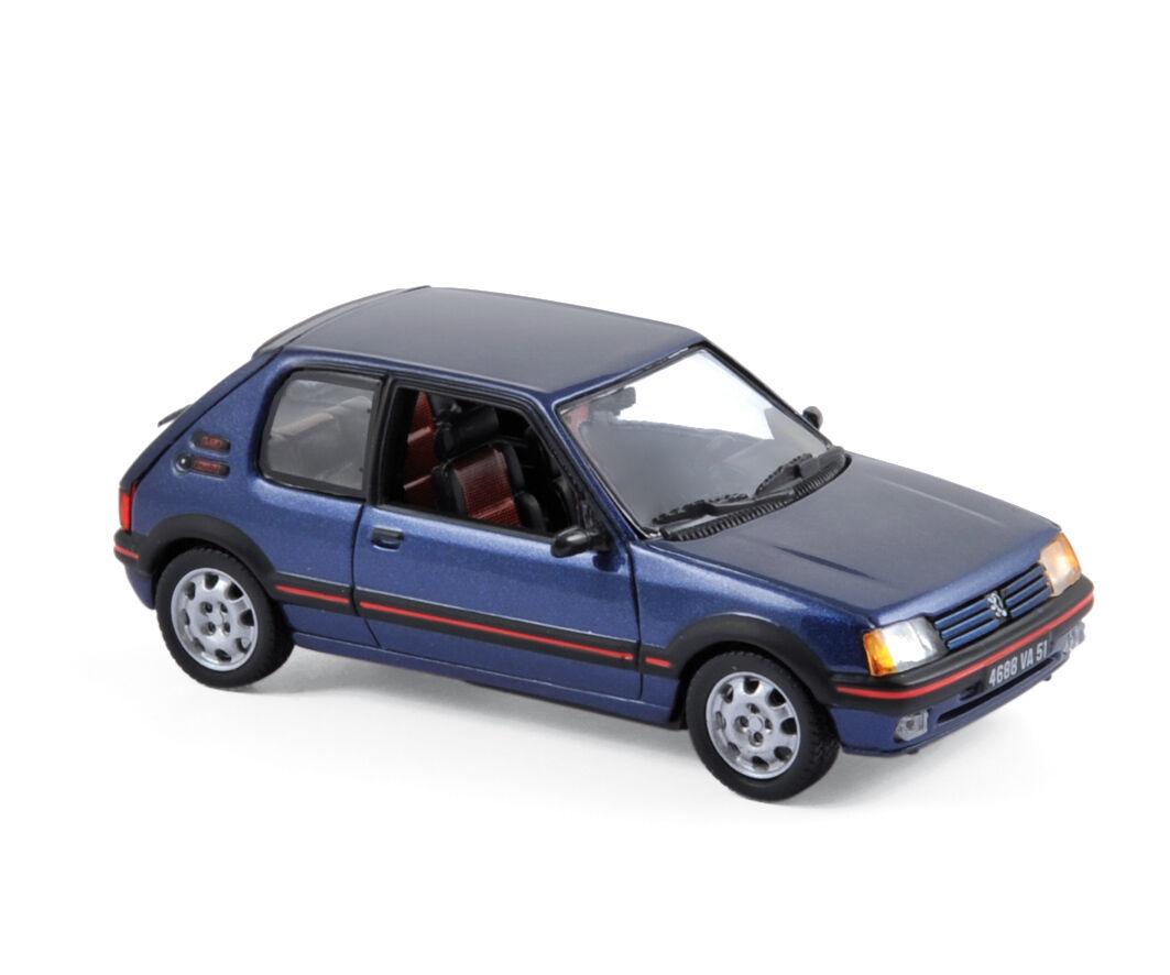 Peugeot 205 GTI 1992 bleu 1 43 NOREV 471704 NOUVEAU & OVP