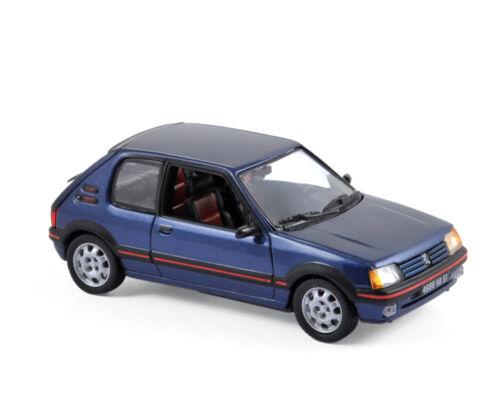 Peugeot 205 GTI 1992 azul 1:43 norev 471704 nuevo /& OVP