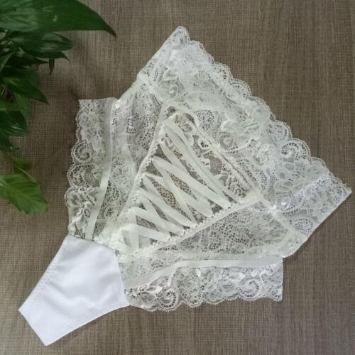 Womens Lace G-string Briefs Panties High Waist Thong Lingerie Underwear Knickers