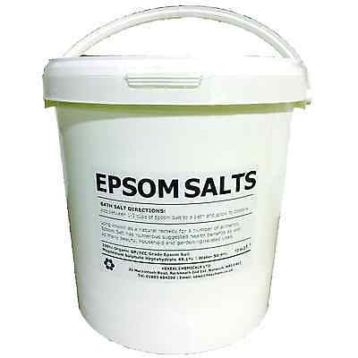 EPSOM SALT | 10KG BUCKET | Pharmaceutical | Food Grade | Magnesium Sulphate