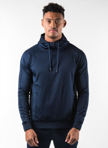 Poly trainingspak Gym Mens 4 top maten 1 Zip King Navy alle wIxTxCfZq