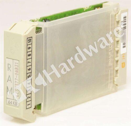 Siemens 6ES5377-0AB31 6ES5 377-0AB31 SIMATIC S5 MS 377 Memory Submodule RAM 64KB