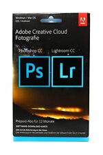 Adobe Creative Cloud Foto Photoshop Lightroom CC 20GB 1 Jahr Key Download