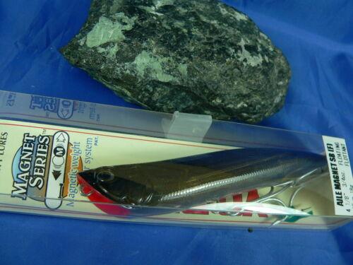 Black Greenhouse Popper YO ZURI Aile MAGNET SB 105mm 18gr Spinning Bass Pike