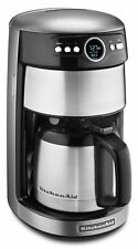 Kitchenaid Coffee Maker Thermal 12 Cup Coffee Machine Contour Silver KCM1203CU