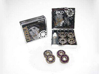 "FKD Skateboard Kugellager Sawblade GOLD /""Greg Lutzka/"" ABEC7"